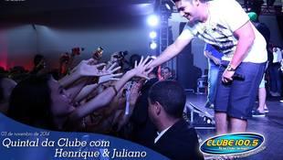 Foto Henrique & Juliano no #QuintalDaClube 97