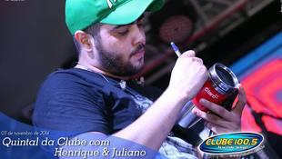 Foto Henrique & Juliano no #QuintalDaClube 98