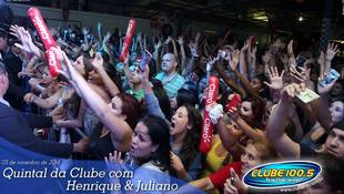 Foto Henrique & Juliano no #QuintalDaClube 99