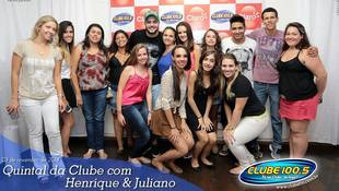 Foto Henrique & Juliano no #QuintalDaClube 101