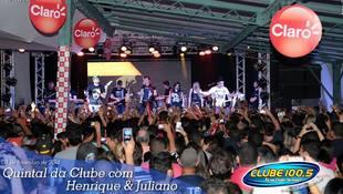 Foto Henrique & Juliano no #QuintalDaClube 102