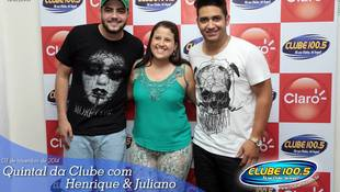 Foto Henrique & Juliano no #QuintalDaClube 103