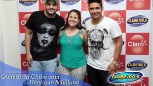 Foto Henrique & Juliano no #QuintalDaClube 103