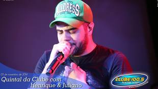 Foto Henrique & Juliano no #QuintalDaClube 104