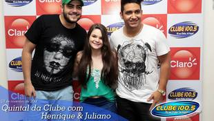 Foto Henrique & Juliano no #QuintalDaClube 106