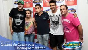 Foto Henrique & Juliano no #QuintalDaClube 107