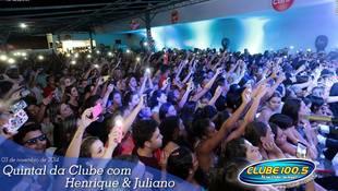 Foto Henrique & Juliano no #QuintalDaClube 108