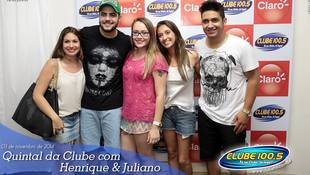 Foto Henrique & Juliano no #QuintalDaClube 109