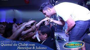 Foto Henrique & Juliano no #QuintalDaClube 114