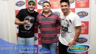 Foto Henrique & Juliano no #QuintalDaClube 115