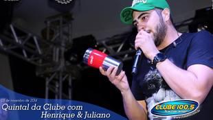 Foto Henrique & Juliano no #QuintalDaClube 117