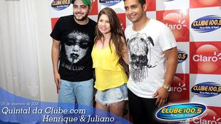 Foto Henrique & Juliano no #QuintalDaClube 118
