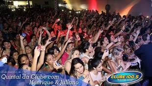 Foto Henrique & Juliano no #QuintalDaClube 122