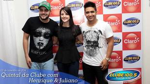 Foto Henrique & Juliano no #QuintalDaClube 123