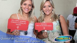 Foto Henrique & Juliano no #QuintalDaClube 124