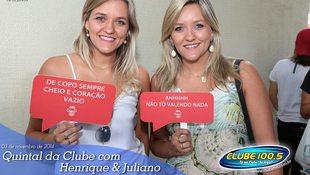 Foto Henrique & Juliano no #QuintalDaClube 124