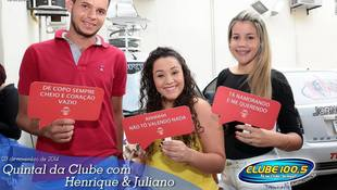 Foto Henrique & Juliano no #QuintalDaClube 126