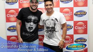 Foto Henrique & Juliano no #QuintalDaClube 129