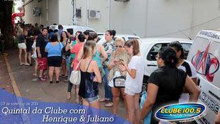 Foto Henrique & Juliano no #QuintalDaClube 128
