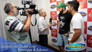 Foto Henrique & Juliano no #QuintalDaClube 130