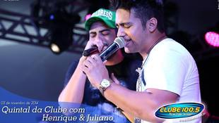 Foto Henrique & Juliano no #QuintalDaClube 132