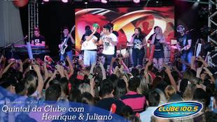 Foto Quintal da Clube com Guilherme & Santiago 362
