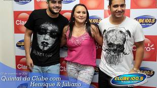 Foto Henrique & Juliano no #QuintalDaClube 137