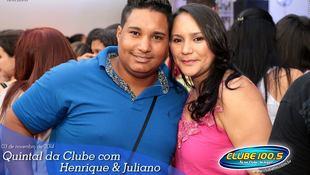 Foto Quintal da Clube com Guilherme & Santiago 365