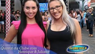 Foto Henrique & Juliano no #QuintalDaClube 142