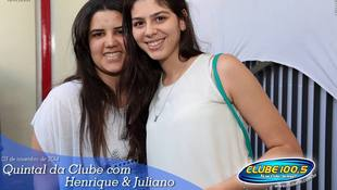 Foto Henrique & Juliano no #QuintalDaClube 143