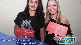 Foto Henrique & Juliano no #QuintalDaClube 144
