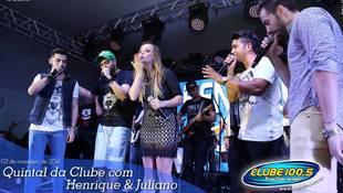 Foto Henrique & Juliano no #QuintalDaClube 146