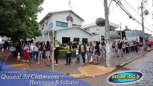 Foto Henrique & Juliano no #QuintalDaClube 147