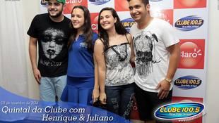 Foto Henrique & Juliano no #QuintalDaClube 148