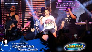 Foto Quintal da Clube com Naiara Azevedo 1