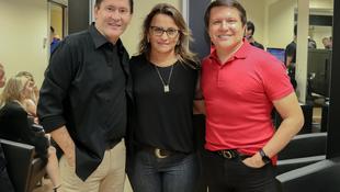 Foto Quintal da Clube com Gian e Giovani 80