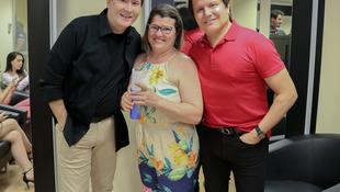 Foto Quintal da Clube com Gian e Giovani 88