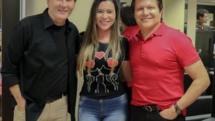 Foto Quintal da Clube com Gian e Giovani 90