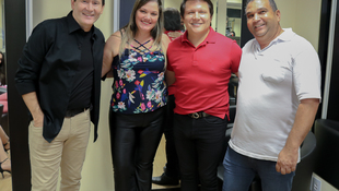 Foto Quintal da Clube com Gian e Giovani 101