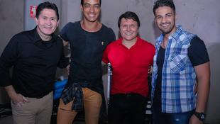 Foto Quintal da Clube com Gian e Giovani 219