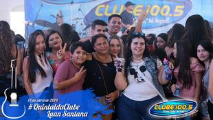 Foto Quintal da Clube com Luan Santana 1
