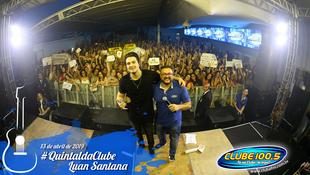 Foto Quintal da Clube com Luan Santana 80