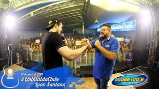 Foto Quintal da Clube com Luan Santana 81