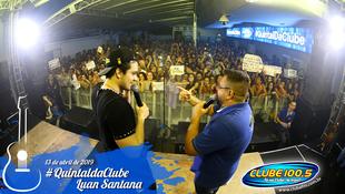 Foto Quintal da Clube com Luan Santana 82