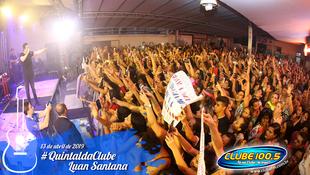 Foto Quintal da Clube com Luan Santana 84