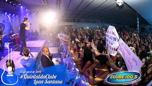 Foto Quintal da Clube com Luan Santana 87