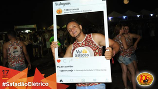 Foto Fotos da galera no #SafadãoElétrico 626