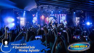 Foto Wesley Safadão no #QuintaldaClube 1