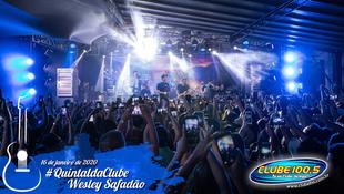 Foto Wesley Safadão no #QuintaldaClube 7