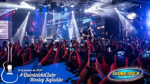 Foto Wesley Safadão no #QuintaldaClube 10